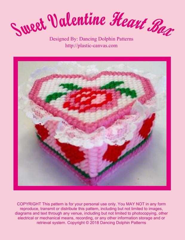 427 - Sweet Valentine Heart Box