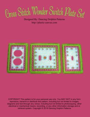 216 - Cross Stitch Wonder Switch Plate Set