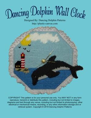 103 - Dancing Dolphin Wall Clock