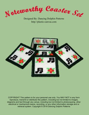 496 - Noteworthy Coaster Set