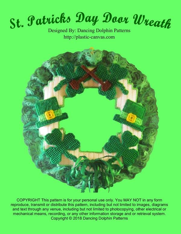 035 - St. Patricks Day Door Wreath