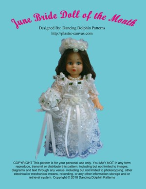 130 - June Bride Doll of the Month