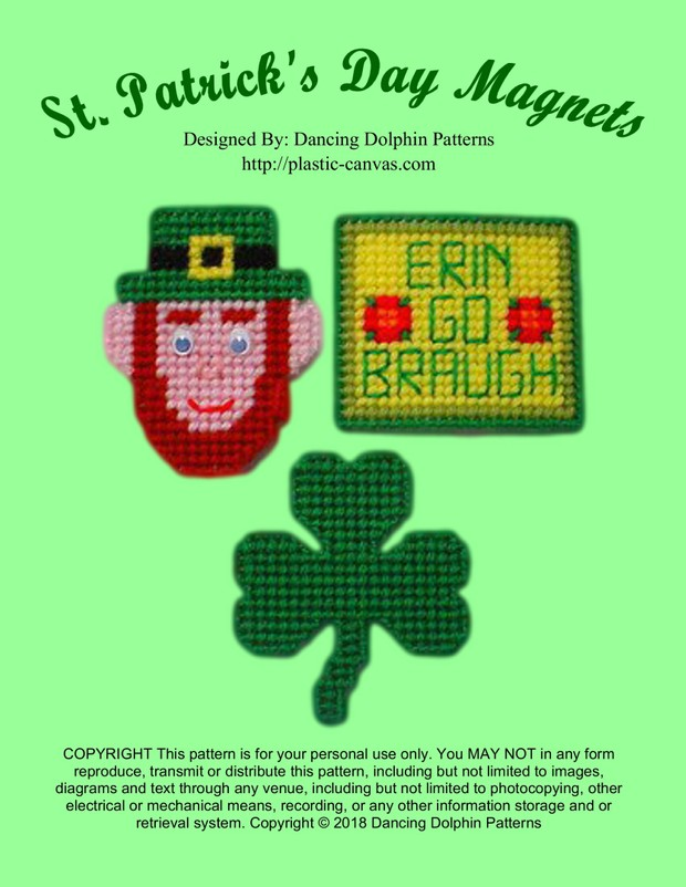 346 - St. Patrick's Day Magnets