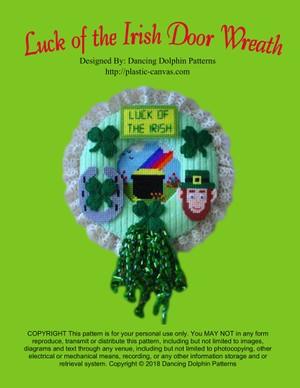 116 - Luck of the Irish Door Wreath