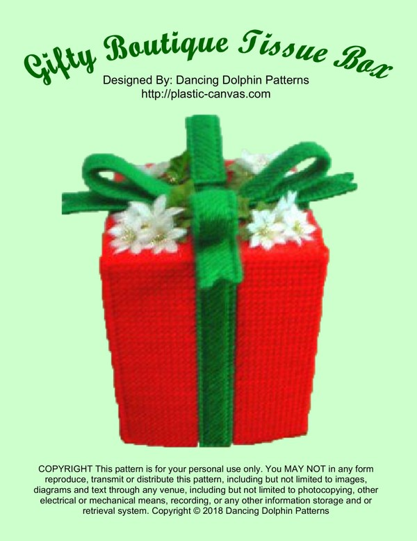 033 - Gifty Boutique Tissue Box