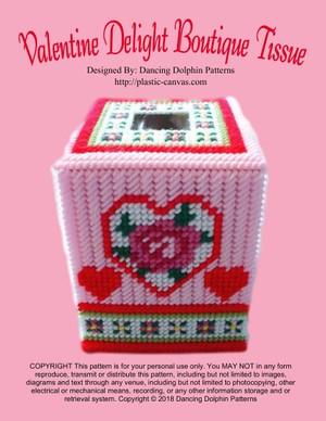 293 - Valentine Delight Boutique Tissue