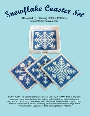 290 - Snowflake Coaster Set