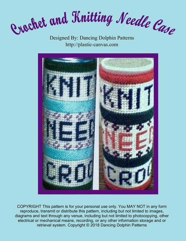 205 - Crochet and Knitting Needle Case