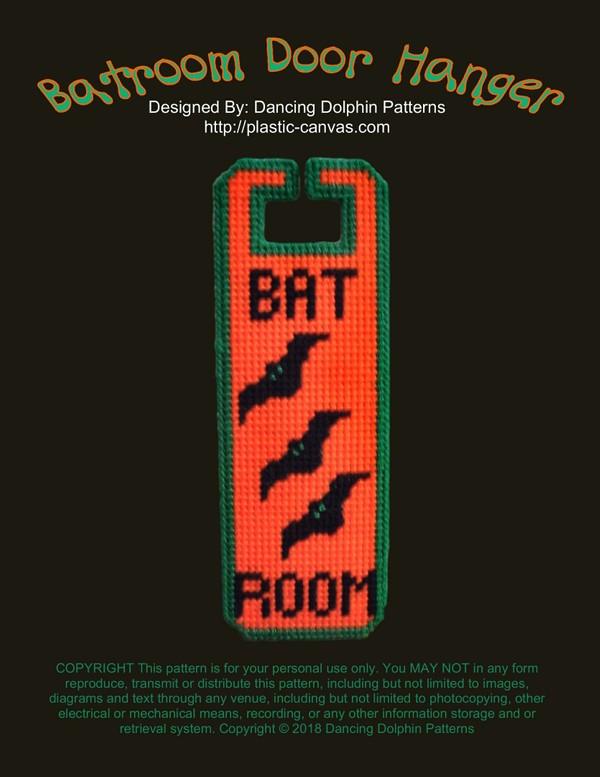 262 - Batroom Door Hanger