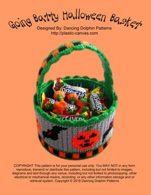 381 - Going Batty Halloween Basket