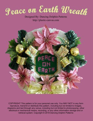 421 - Peace on Earth Wreath