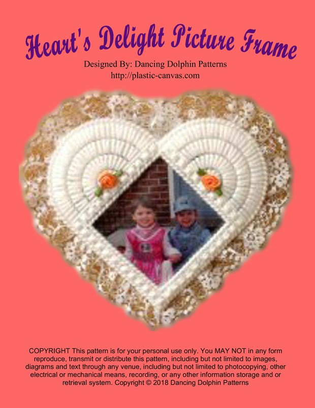 123 - Heart's Delight Picture Frame