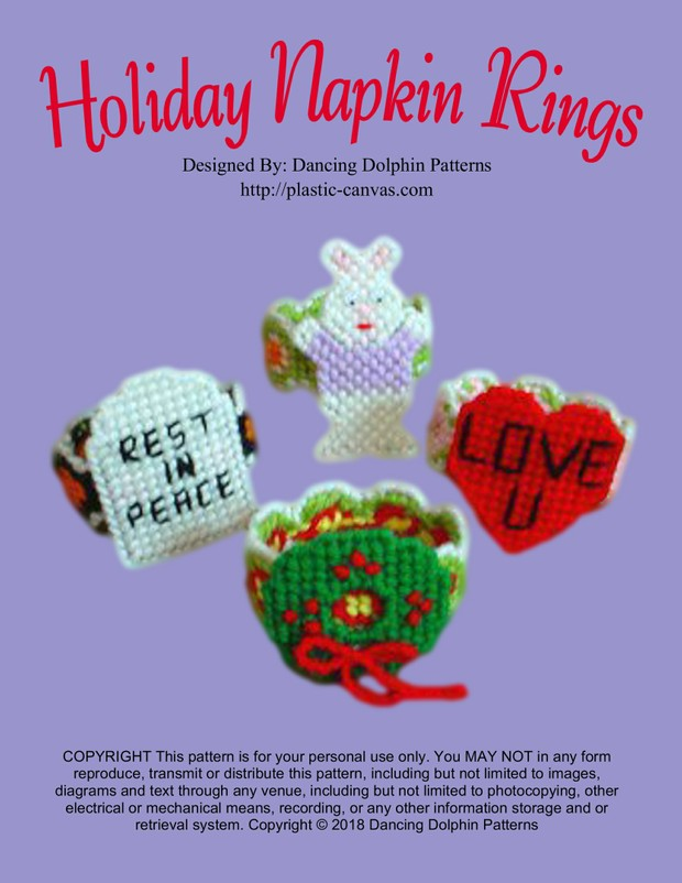 182 - Holiday Napkin Rings