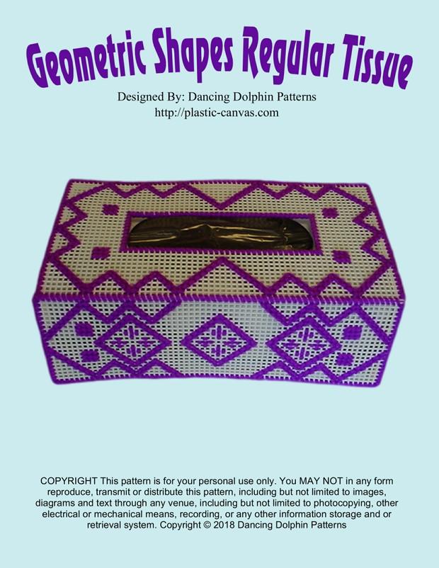 493 - Geometric Regular Tissue Cover