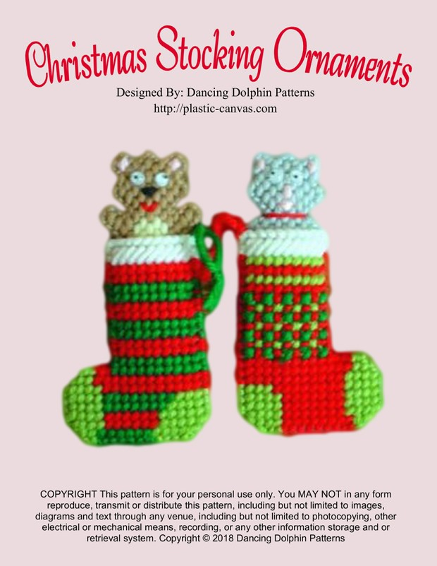 175 - Christmas Stocking Ornaments