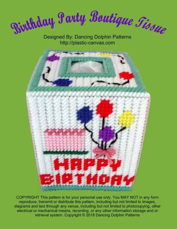 431 - Birthday Party Boutique Tissue