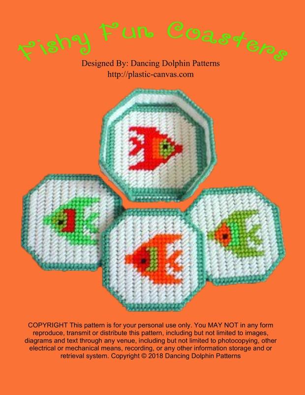 196 - Fishy Fun Coasters