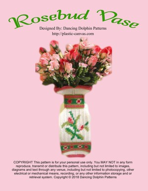 353 - Rosebud Vase