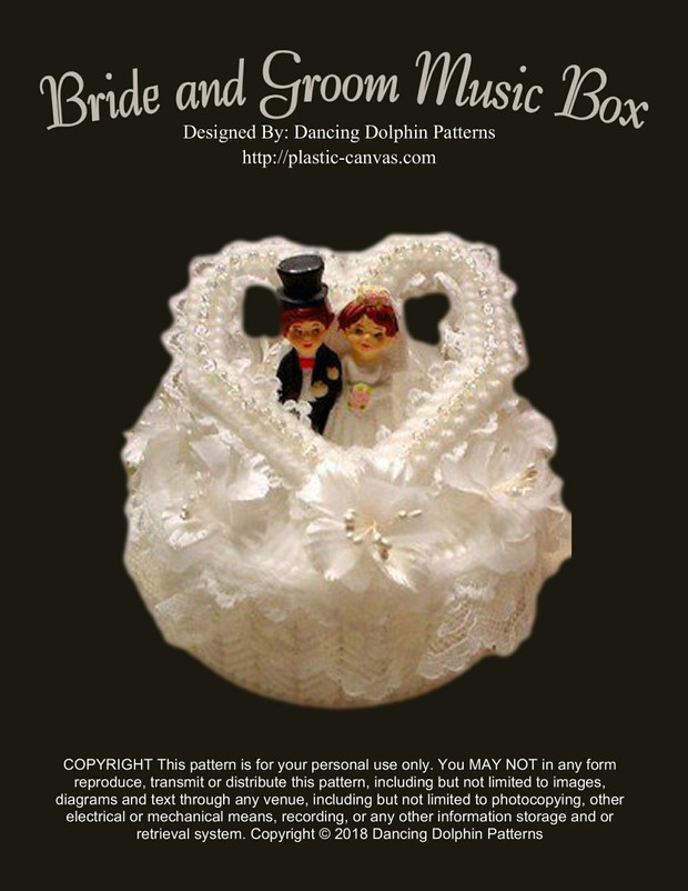 076 - Bride and Groom Music Box