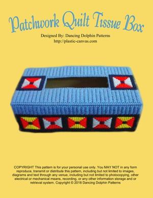 239 - Patchwork Quilt Regular Tissue Box