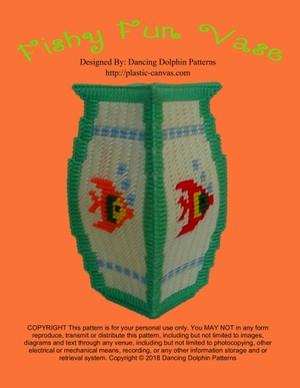485 - Fishy Fun Vase