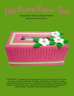 096 - Pink Passion Regular Tissue Box