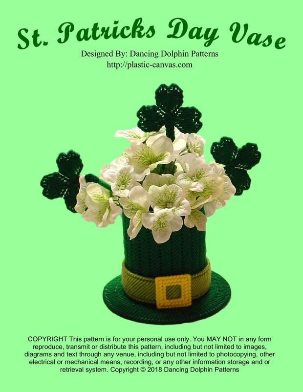 299 - St. Patricks Day Vase