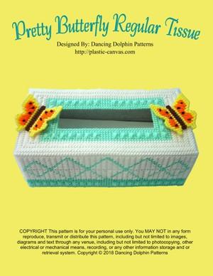378 - Pretty Butterfly Regular Tissue