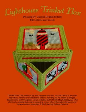 486 - Lighthouse Trinket Box