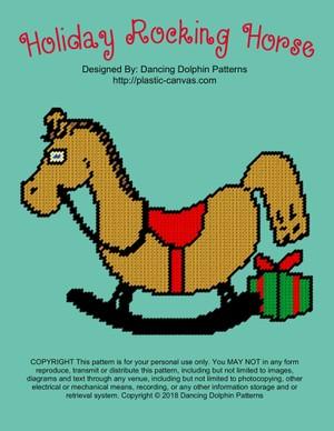 607 - Holiday Rocking Horse