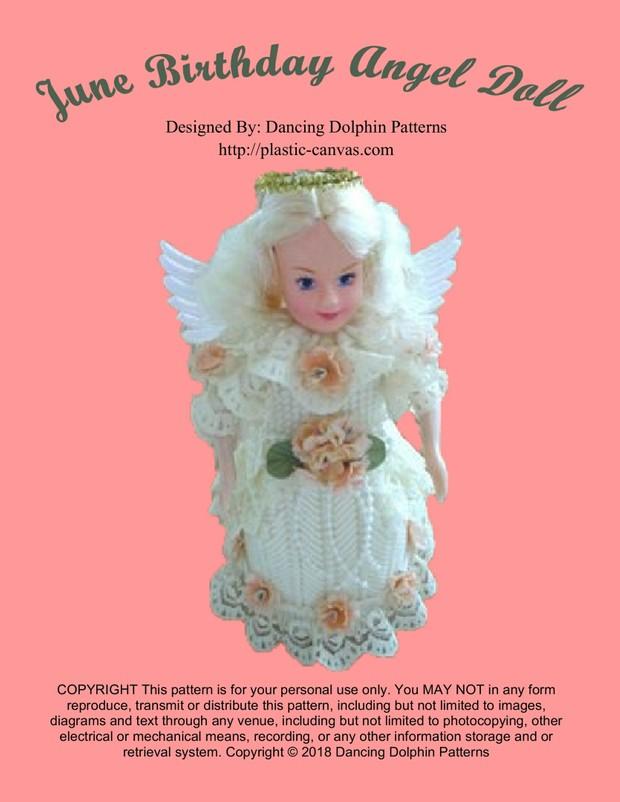 413 - June Birthday Angel Doll