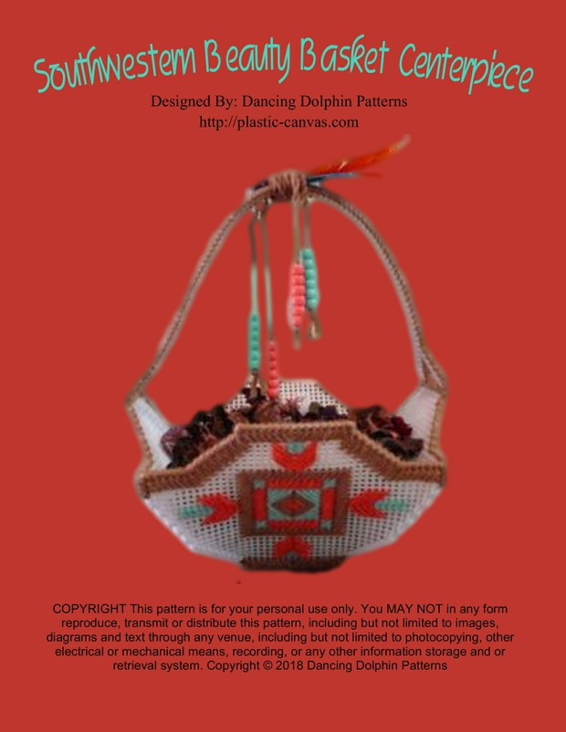 010 - Southwestern Beauty Basket Centerpiece