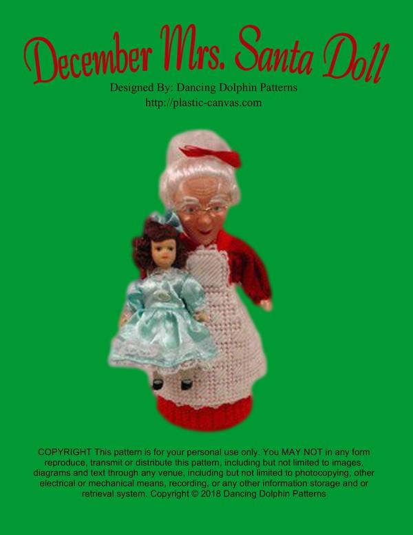 162 - December Mrs. Santa Doll