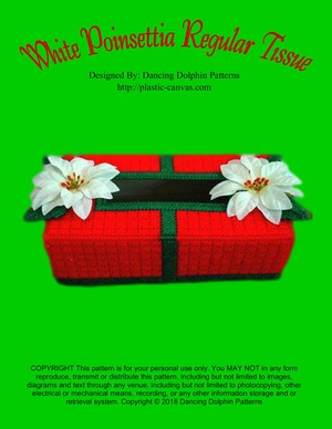 279 - White Poinsettia Regular Tissue