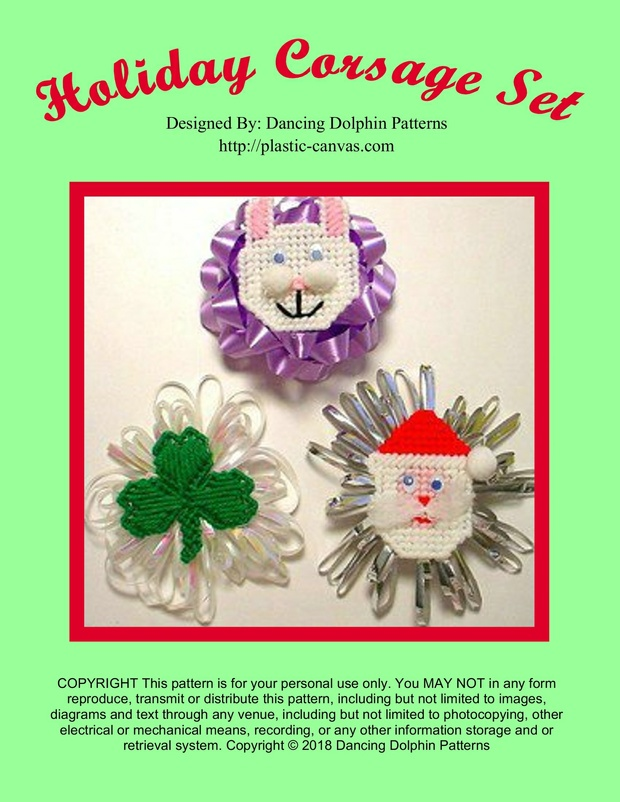 348 - Holiday Corsage Set
