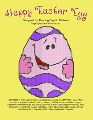 619 - Happy Easter Egg