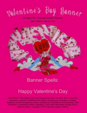 115 - Valentine's Day Banner