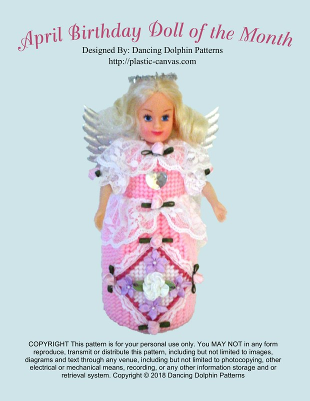 400 - April Birthday Doll of the Month