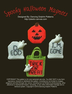 339 - Spooky Halloween Magnets