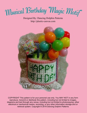 321 - Musical Birthday Magic Motif
