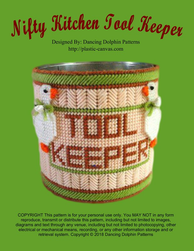 230 - Nifty Kitchen Tool Keeper