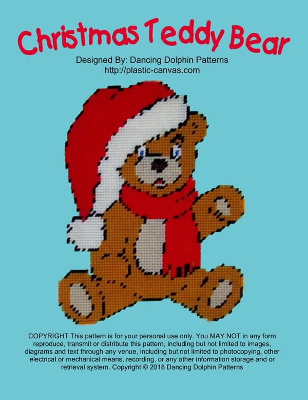 523 - Christmas Teddy Bear
