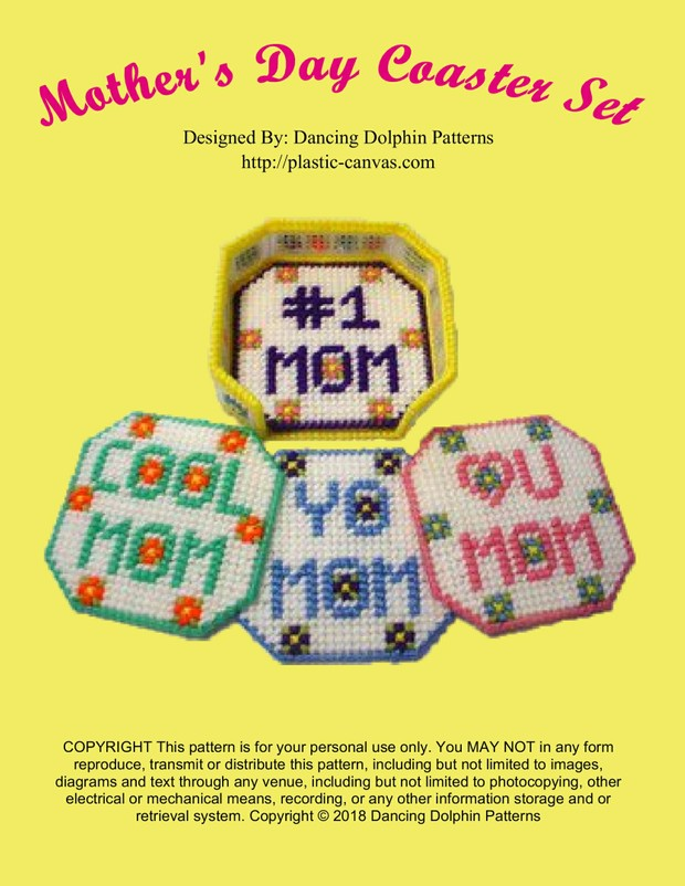 350 - Mothers Day Coasters