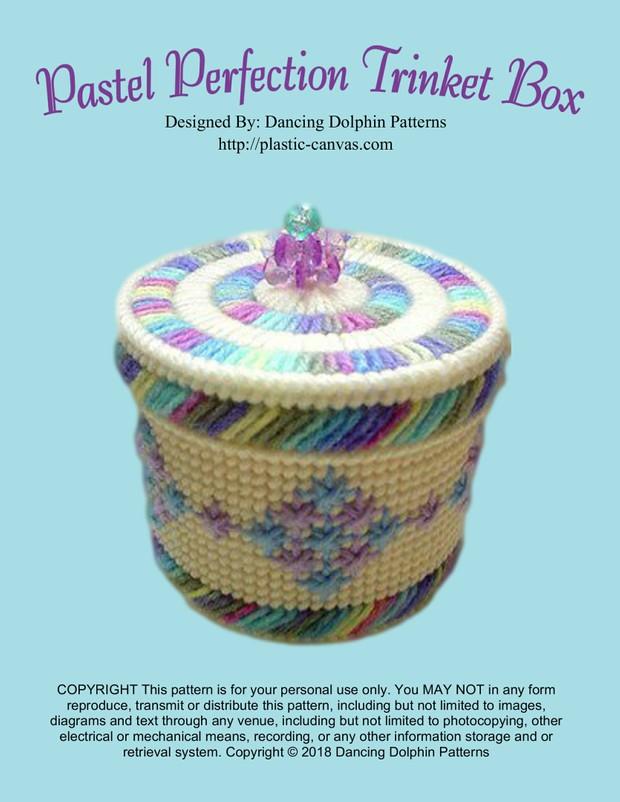 104 - Pastel Perfection Trinket Box