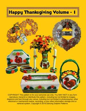 L-5 Thanksgiving Leaflet Volume - 1