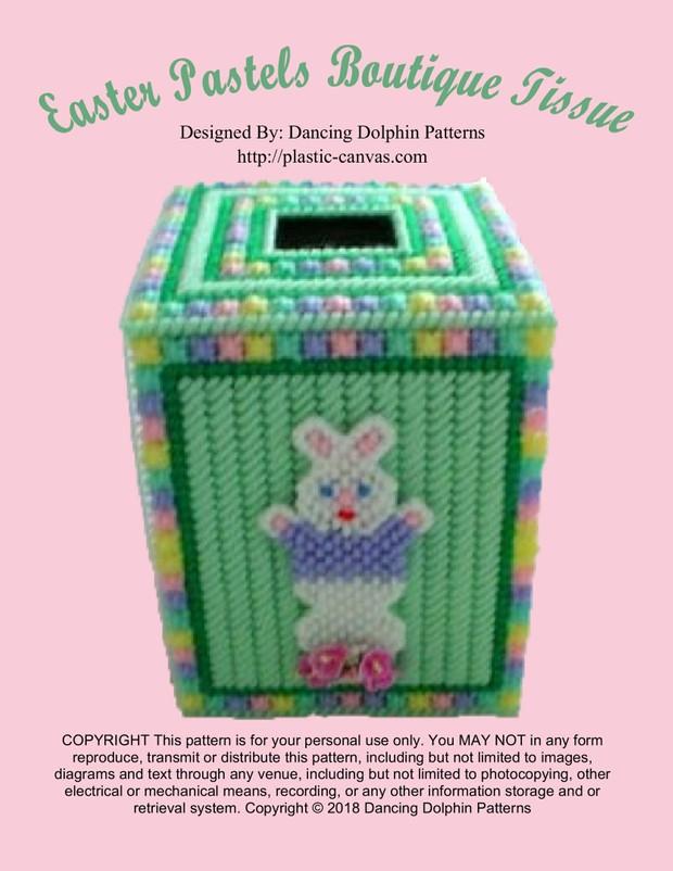 433 - Easter Pastels Boutique Tissue