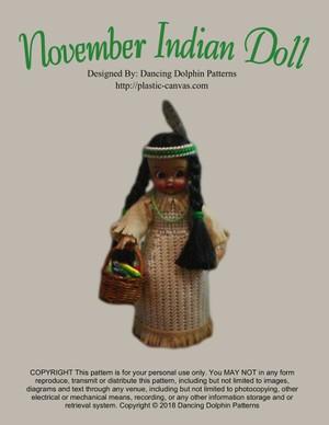 160 - November Indian Doll