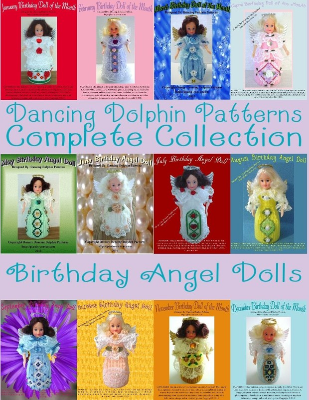 Birthday Angel of the Month Collection