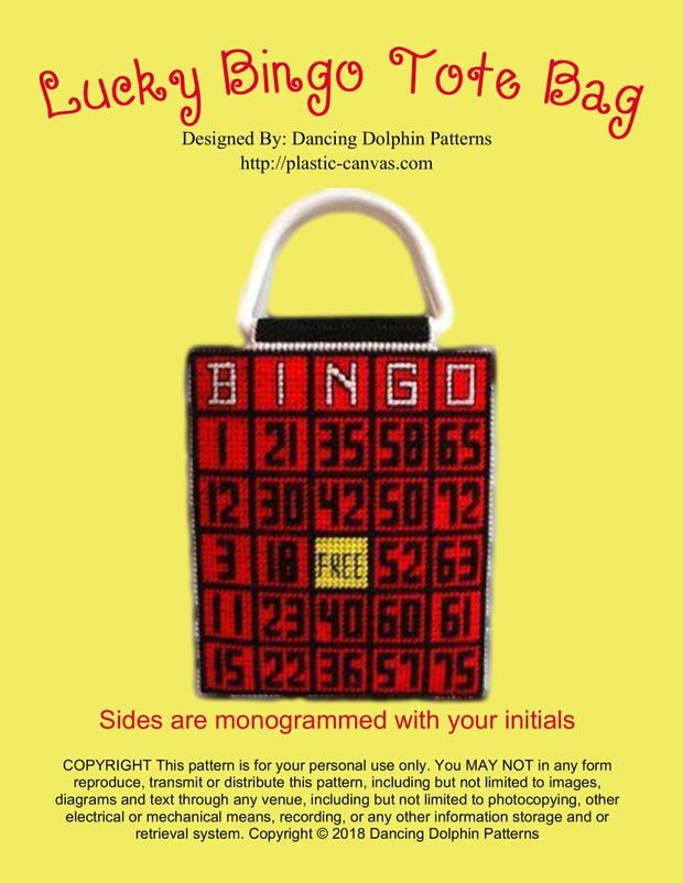 060 - Lucky Bingo Tote Bag