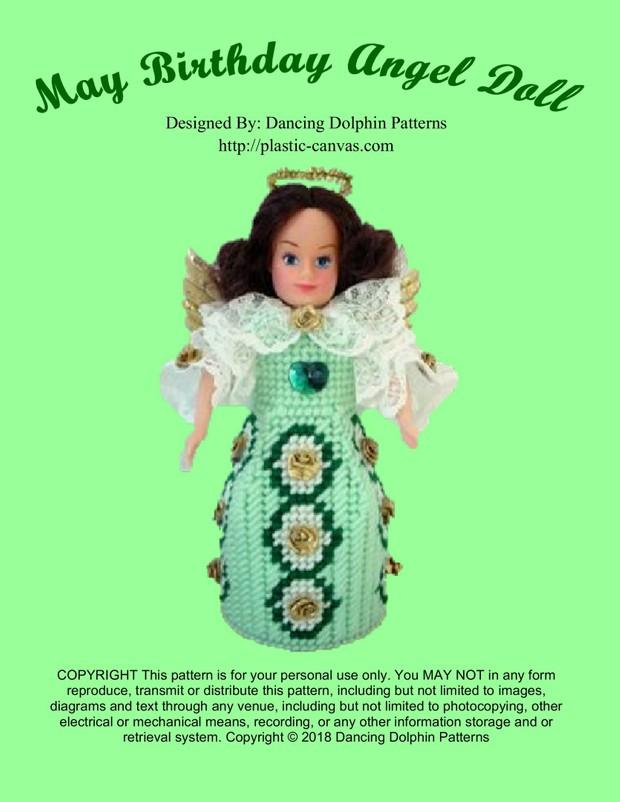 401 - May Birthday Angel Doll